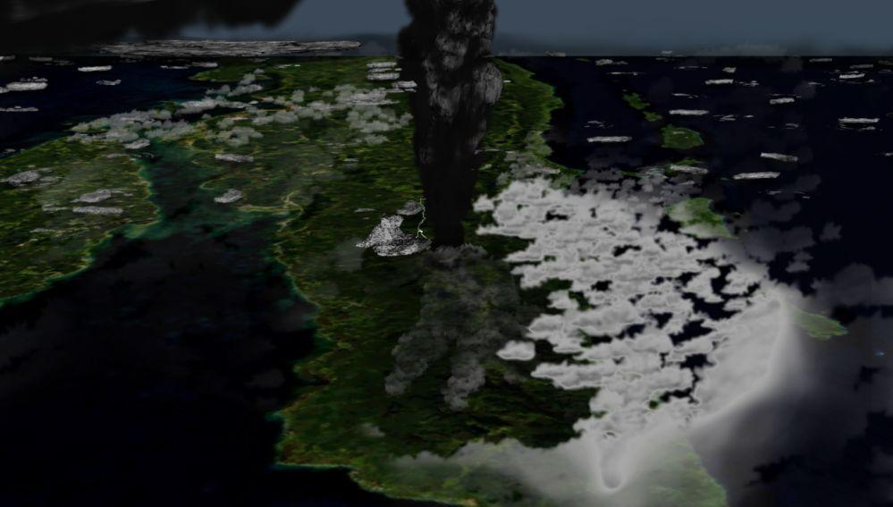 Los humanos sobrevivieron a una de las mayores erupciones volcanicas de su historia