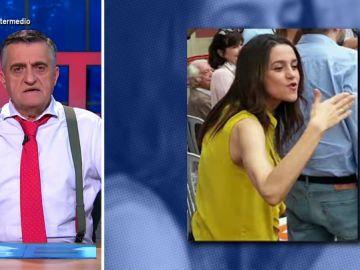"""Estos son los """"modales exquisitos"""" de Inés Arrimadas: de su """"carácter abierto al diálogo"""" a sus"""" manotazos"""" a Francisco Igea"""