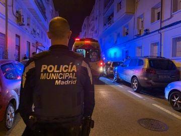 Policía municipal y Samur de Madrid en una imagen de archivo