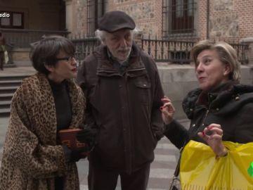 """La entrevista a Trueba que acaba con Thais Villas """"metiendo la mano en bolsa ajena"""""""