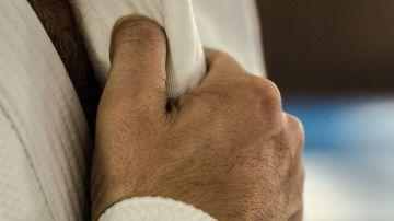 Imagen de archivo de un experto en judo