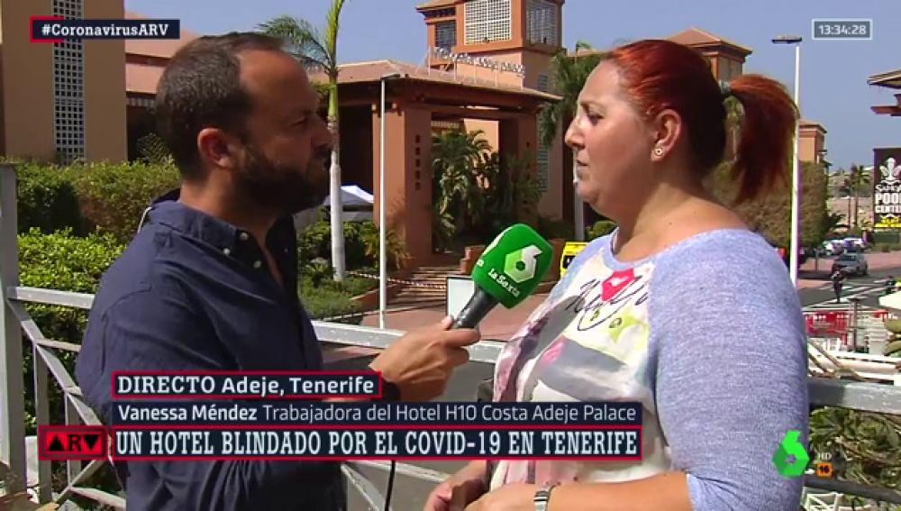 Habla una trabajadora del hotel en cuarentena en Tenerife: