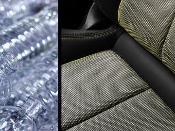 Audi ofrece tapicerías a partir de botellas recicladas