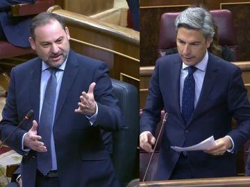 José Luis Ábalos y Andrés Lorite (PP)