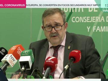 José María de la Torre, director general de Salud Pública de Andalucía