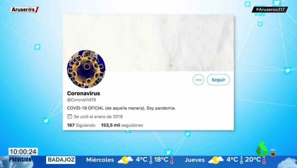 coronavirus Twitter