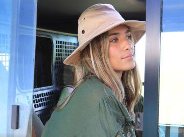 María Pombo, de safari en Kenia