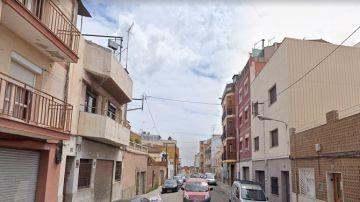 La calle de Badalona en la que han ocurrido los hechos