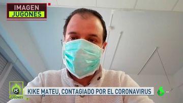 NO PUBLICAR Kike Mateu, periodista infectado por coronavirus, habla en Jugones