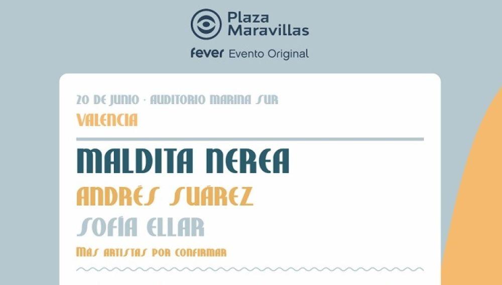 Plaza Maravillas, el evento de FEVER en la Marina Sur de Valencia