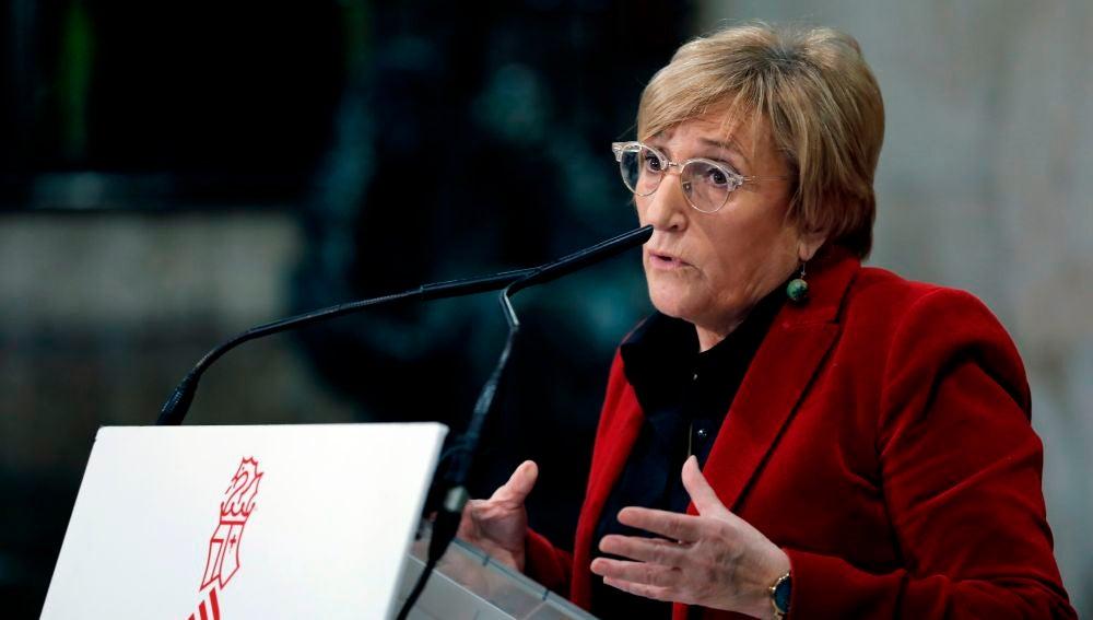 Ana Barceló, consellera de Sanidad.
