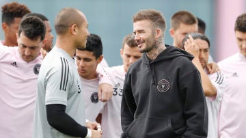 David Beckham en su nuevo equipo, el Inter de Miami