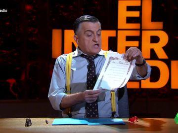 """La divertida oda de Wyoming al PP: """"Oh, pobre Pablo Casado, la mesa de Cataluña te ha indignado"""""""