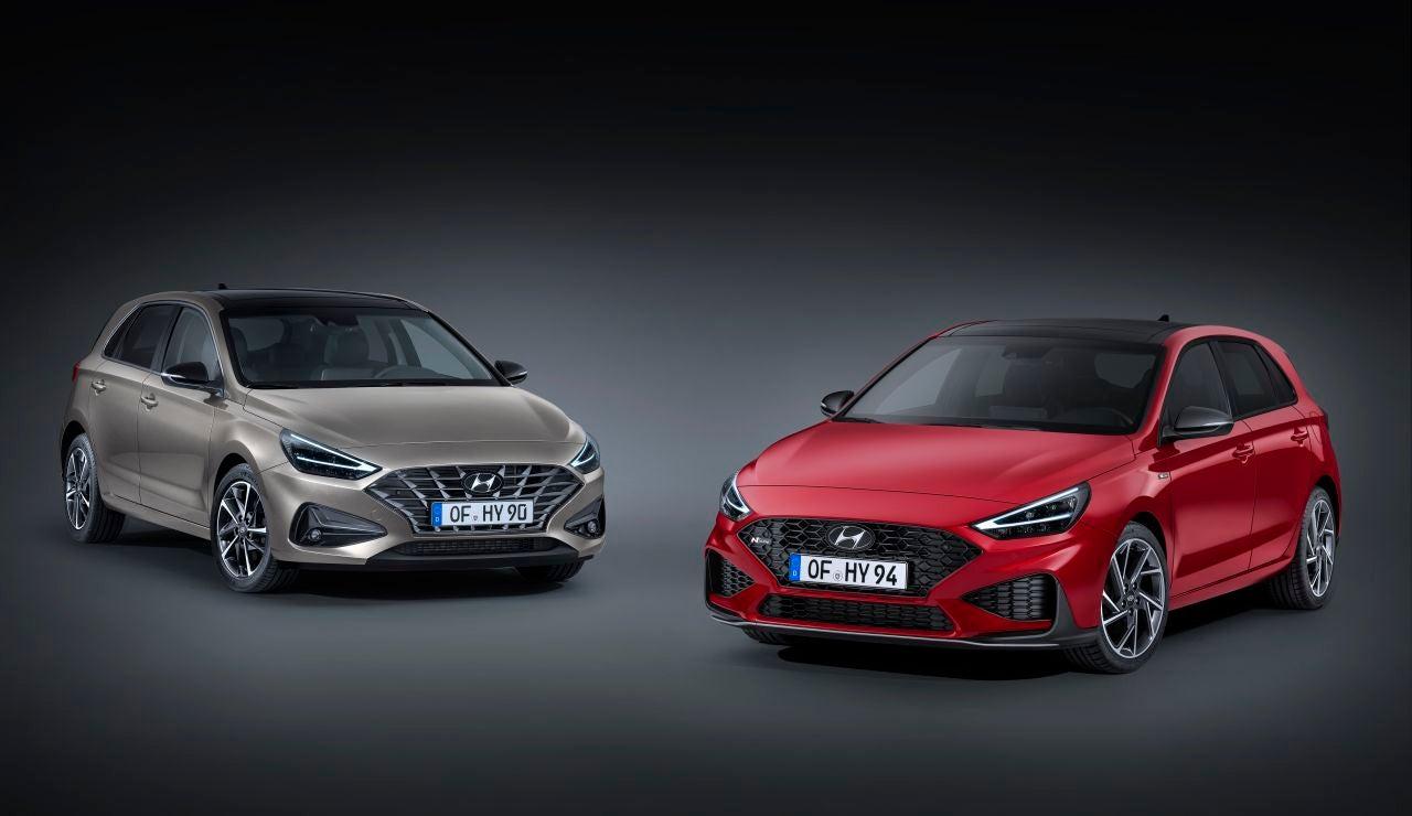 Hyundai i30 e i30 N-Line