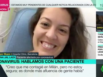 Almudena Jal Ladi, ingresada con coronavirus