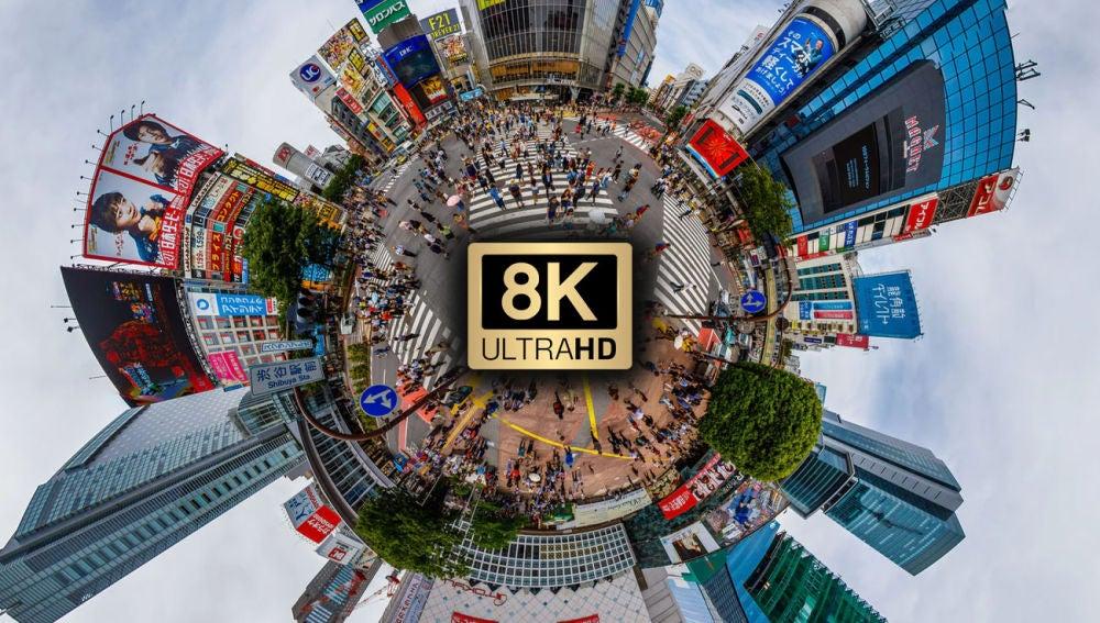 Los móviles comienzan a grabar vídeos en calidad 8K.