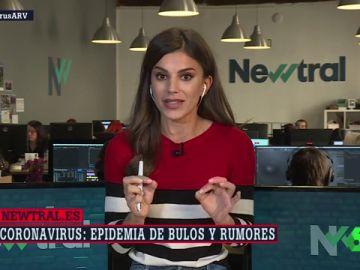 Lorena Baeza, periodista de Newtral.es