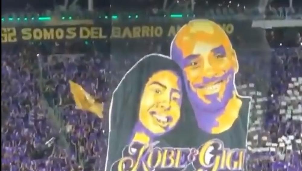 Kobe Bryant y Gianna.