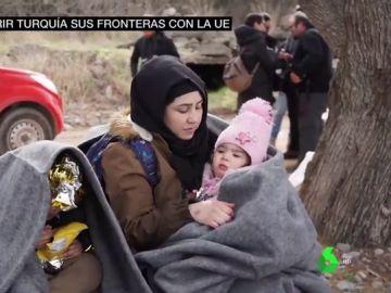 Turquía abre sus fronteras a los migrantes y presiona a la UE para que se implique en la crisis humanitaria