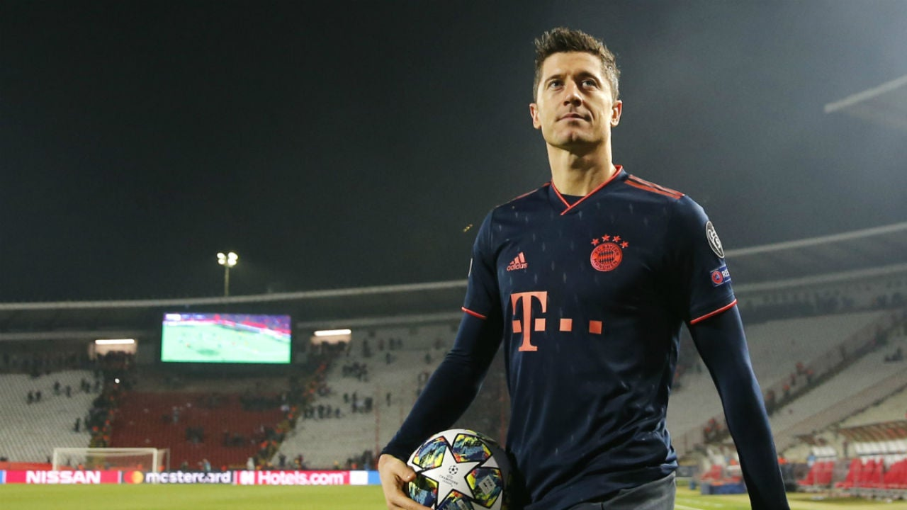 Lewandowski, con el Bayern de Múnich