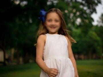 La pequeña Paisley Elizabeth Grace Cogsdill, en una imagen de archivo