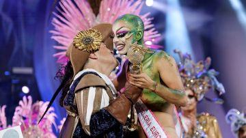 Imagen de Drag Sethlas, ganador de la gala Drag Queen del carnaval de Las Palmas de Gran Canaria
