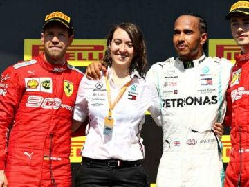 Marga Torres, ingeniera española en la Fórmula 1
