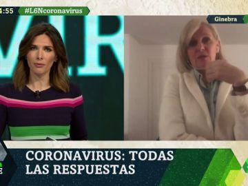 """María Neira (OMS): """"Las medidas de contención españolas son dignas de felicitación porque son muy adecuadas y proporcionales"""""""