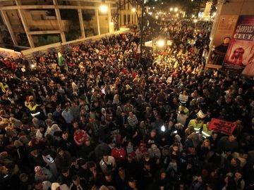 Imagen de la manifestación en Ceuta contra el racismo