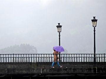 Imagen de archivo de una mujer en Lugo.