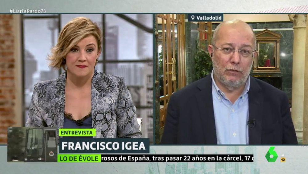"""Francisco Igea y su comentada conversación con Inés Arrimadas: """"Se han cometido errores. Estoy esperando a que rectifique"""""""