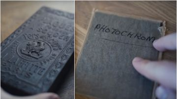 Halla fotografías antiguas dentro de una cápsula del tiempo
