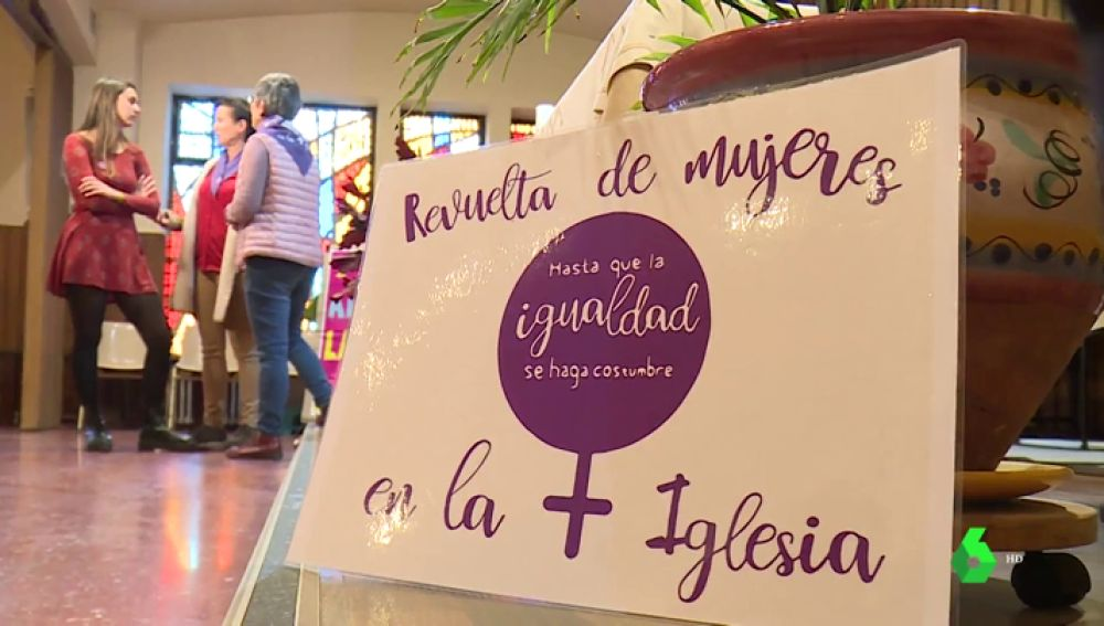 Imagen de la Asociación 'Revuelta de mujeres en la Iglesia'.