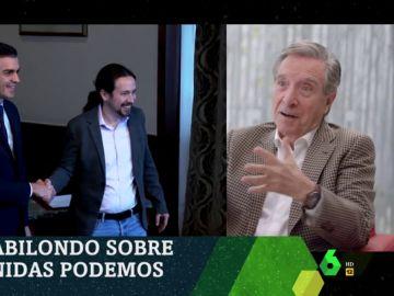 """Iñaki Gabilondo: """"Celebro que Podemos esté mostrando solidez, madurez y responsabilidad, pero no entiendo muchas cosas"""""""