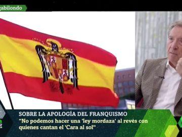 """Iñaki Gabilondo, en contra de penar la exaltación del franquismo: """"No podemos hacer una ley mordaza al revés"""""""
