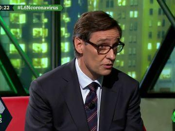 """Salvador Illa: """"Seguimos con preocupación la situación del coronavirus, pero no hay que caer en alarmismos"""""""