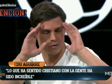 """Bombazo de Edu Aguirre: """"Cristiano ha sentido ganas de volver al Madrid"""""""