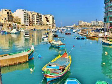Vías navegables en Malta