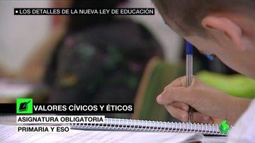Así será la nueva ley educativa que impulsará el Gobierno a partir del próximo curso