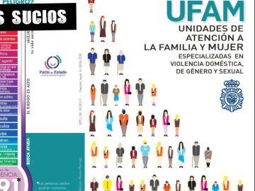 Cartel explicativo de las unidades de la policía UFAM