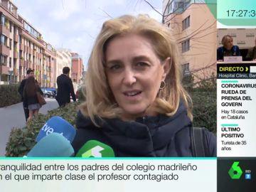"""Hablan los padres de los alumnos del colegio madrileño donde un profesor ha dado positivo en coronavirus: """"Van a seguir viniendo"""""""