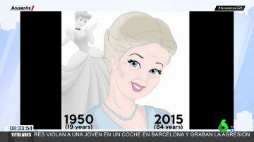 Día Mundial de las Princesas: así han envejecido Cenicienta, Blancanieves y Mulán