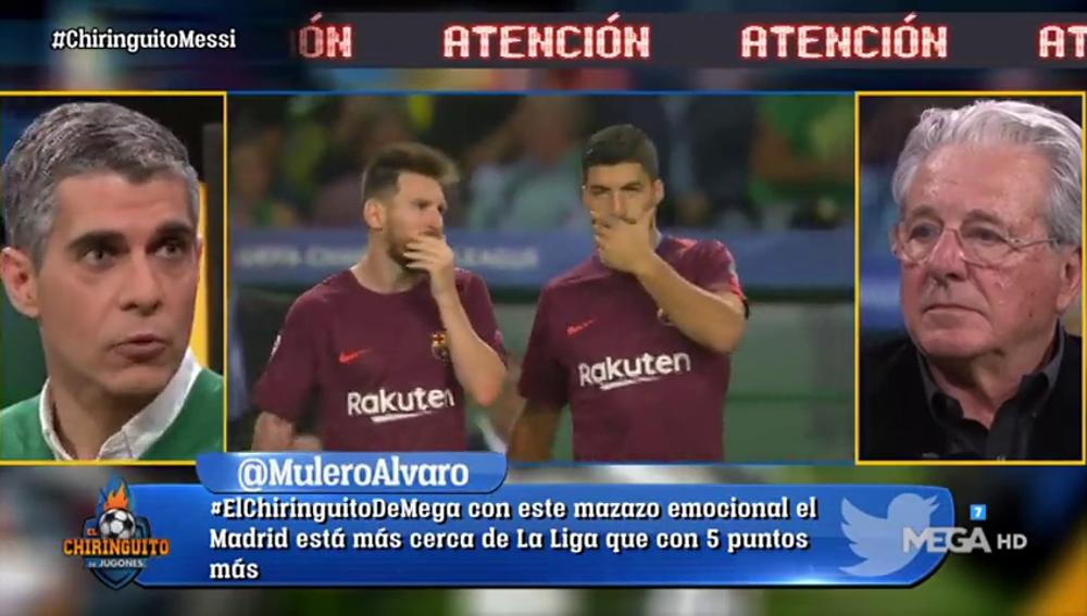 """José Luis Sánchez, tajante con la situación de Messi: """"Lleva dos años andando"""""""