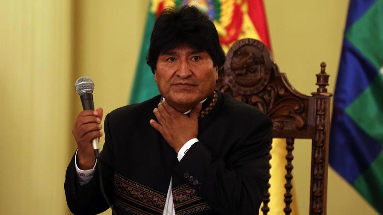 Imagen de archivo del expresidente de Bolivia, Evo Morales