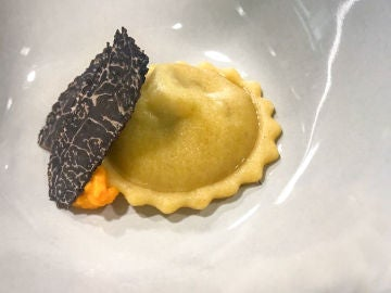 Trufa Negra de Soria en el Restaurante Ronquillo