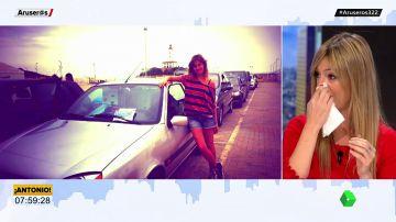 """""""Día triste"""" para Aruser@s: María Moya rota de dolor por """"la muerte"""" de su coche"""