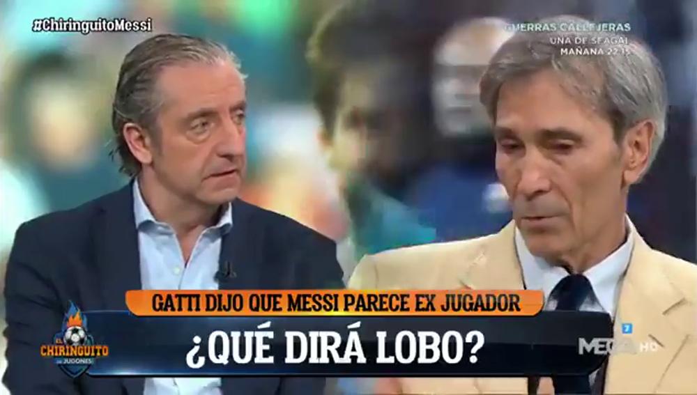 """'Lobo' Carrasco da la cara: """"Hay barcelonistas que quieren que pierda el Barça"""""""