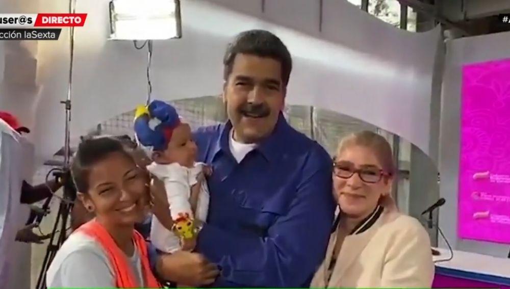 Maduro, durante la presentación del Plan de Parto Humanizado