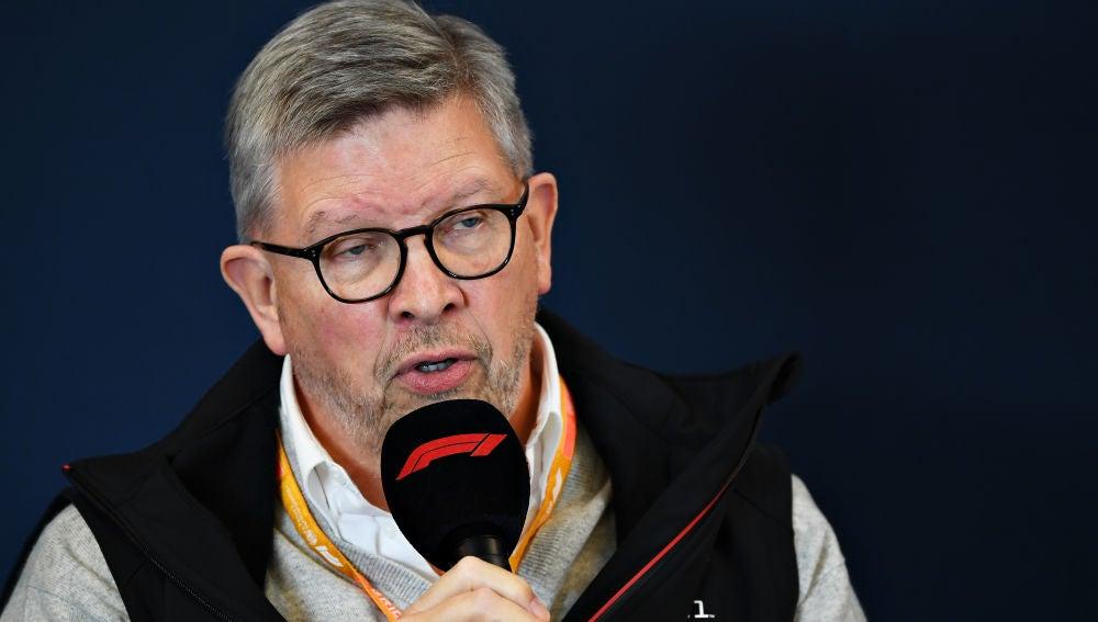 Ross Brawn, director de la Fórmula 1