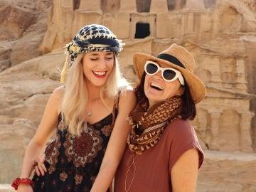 Agripina y Silvia Abril en Jordania